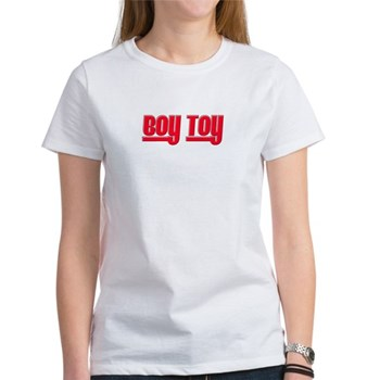 Boy Toy - Red Women's T-Shirt
