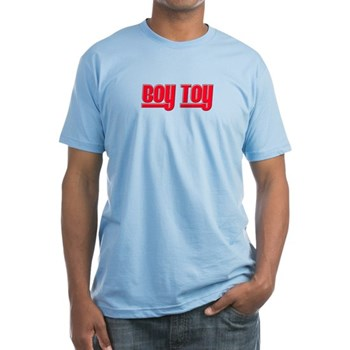 Boy Toy - Red Fitted T-Shirt