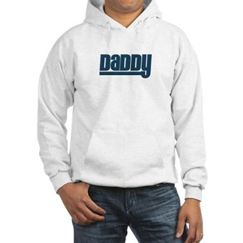 Daddy - Blue Hooded Sweatshirt