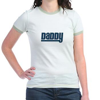 Daddy - Blue Jr. Ringer T-Shirt