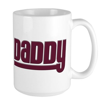 Daddy - Red Large Mug
