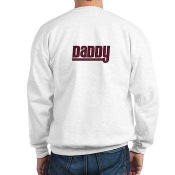 Daddy - Red Sweatshirt