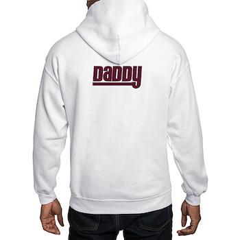 Daddy - Red Hooded Sweatshirt