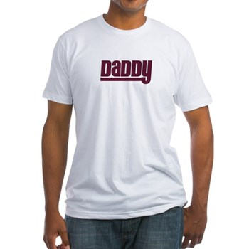 Daddy - Red Fitted T-Shirt