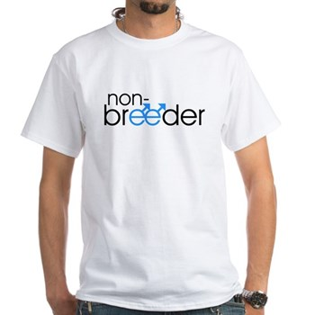 Non-Breeder - Male White T-Shirt
