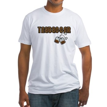 Teabagger Fitted T-Shirt