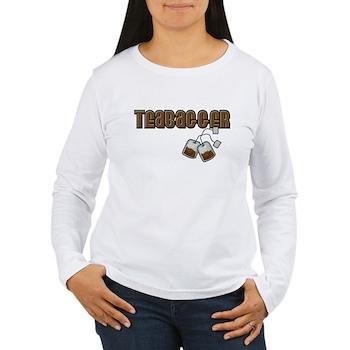 Teabagger Women's Long Sleeve T-Shirt