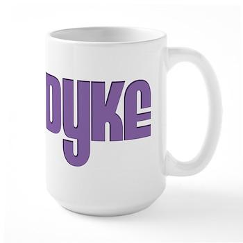Purple Dyke Large Mug
