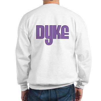 Purple Dyke Sweatshirt