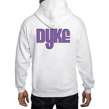 Purple Dyke Hooded Sweatshirt