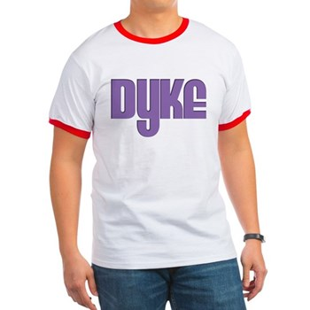 Purple Dyke Ringer T