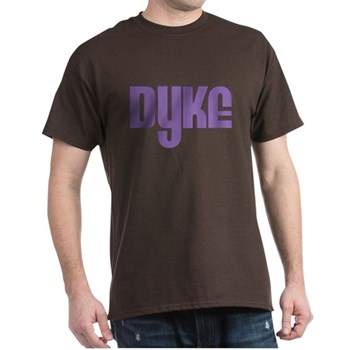 Purple Dyke Dark T-Shirt
