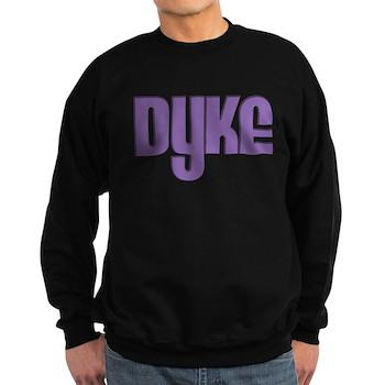Purple Dyke Dark Sweatshirt
