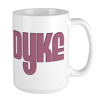 Pink Dyke Large Mug