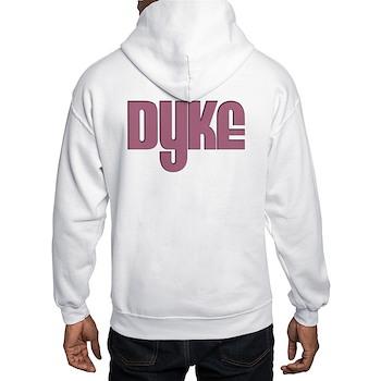 Pink Dyke Hooded Sweatshirt