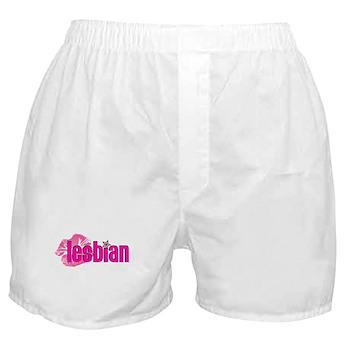 Lipstick Lesbian Boxer Shorts