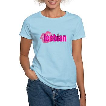 Lipstick Lesbian Women's Light T-Shirt