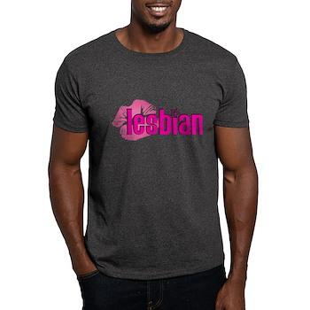 Lipstick Lesbian Dark T-Shirt