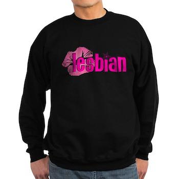 Lipstick Lesbian Dark Sweatshirt