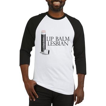Lip Balm Lesbian Baseball Jersey