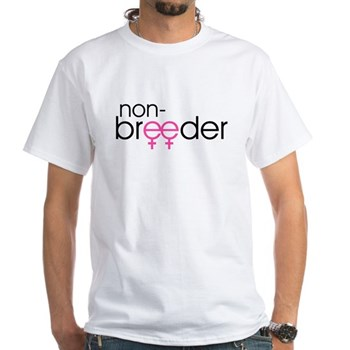 Non-Breeder - Female White T-Shirt