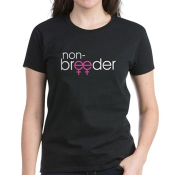 Non-Breeder - Female Women's Dark T-Shirt