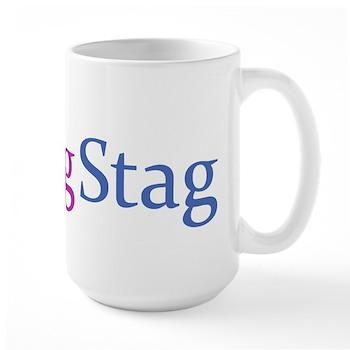 Fag Stag Large Mug