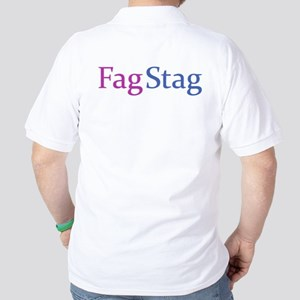 Fag Stag Golf Shirt