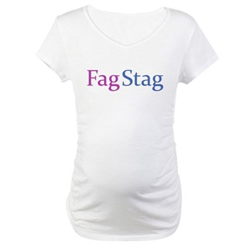 Fag Stag Maternity T-Shirt