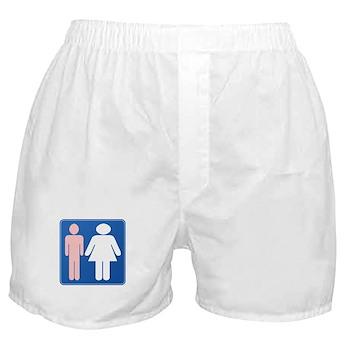 FAG HAG Sign Boxer Shorts