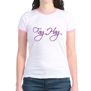 Fag Hag Jr. Ringer T-Shirt
