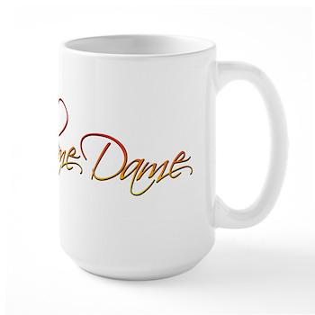 Flame Dame Large Mug