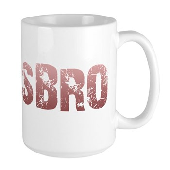 Red Lesbro Large Mug