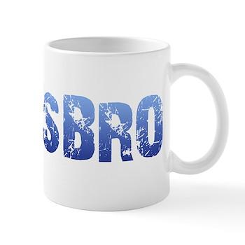 Blue Lesbro Mug