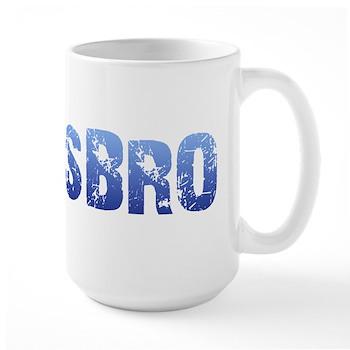 Blue Lesbro Large Mug
