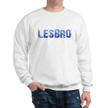 Blue Lesbro Sweatshirt