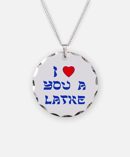 I Love You a Latke Necklace