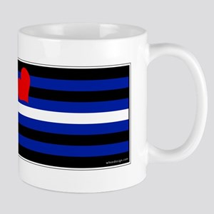 Leather Pride Flag Mug