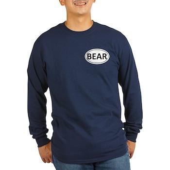 BEAR Euro Oval Long Sleeve Dark T-Shirt