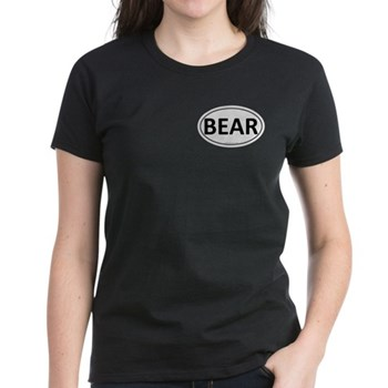BEAR Euro Oval Women's Dark T-Shirt