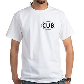 CUB Euro Oval White T-Shirt