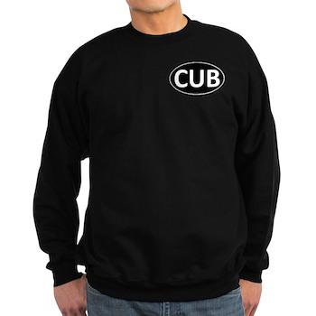 CUB Black Euro Oval Dark Sweatshirt