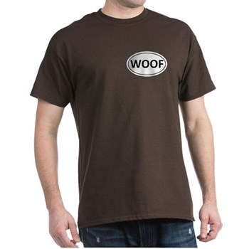 WOOF Euro Oval Dark T-Shirt