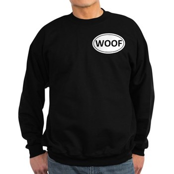 WOOF Euro Oval Dark Sweatshirt