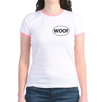 WOOF Euro Oval Jr. Ringer T-Shirt