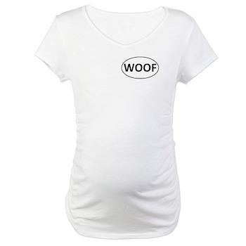 WOOF Euro Oval Maternity T-Shirt