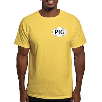 PIG Euro Oval Light T-Shirt