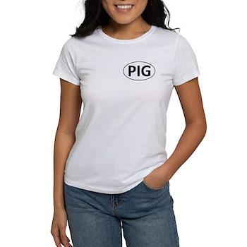 PIG Euro Oval Women's T-Shirt