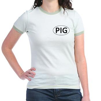 PIG Euro Oval Jr. Ringer T-Shirt