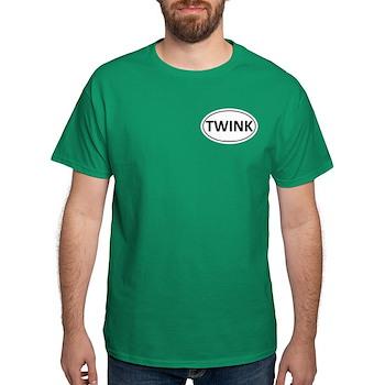 TWINK Euro Oval Dark T-Shirt